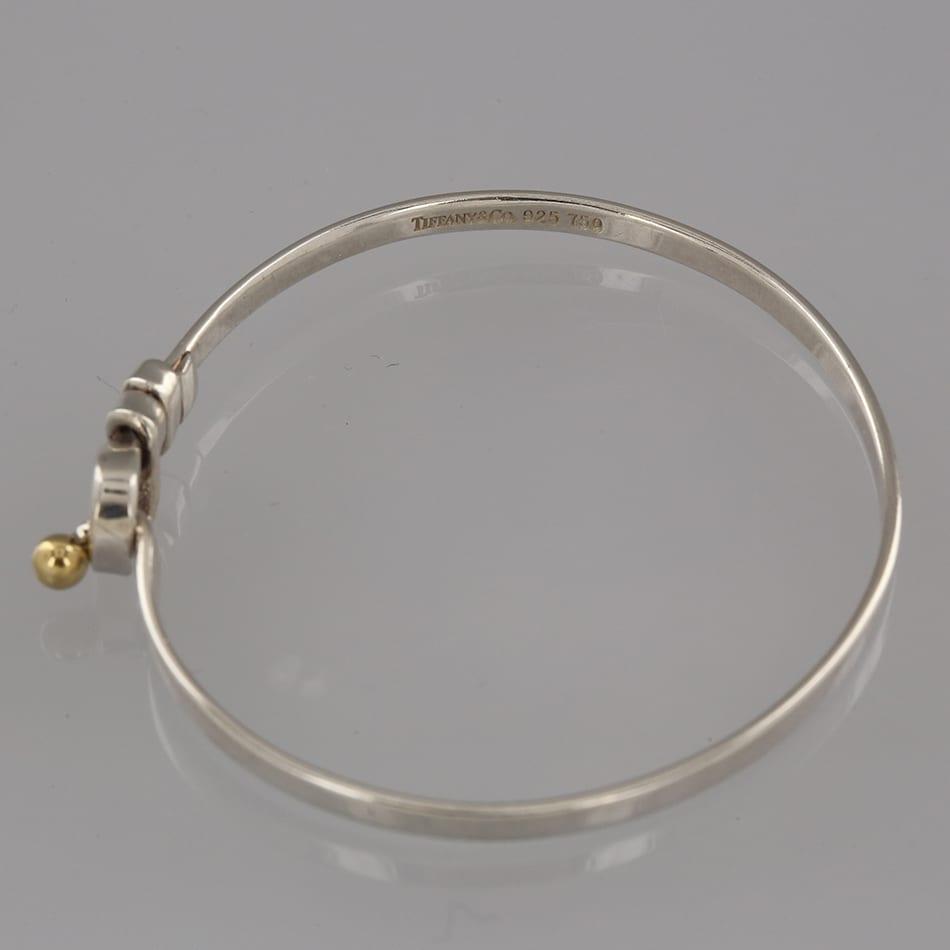 fcc7e19a3 Home / Bangles / Bangles / Tiffany & Co. Hook and Eye Bangle
