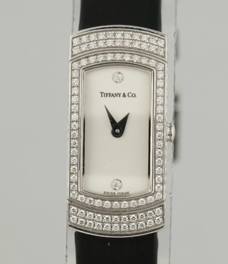 db2d46353339a Tiffany & Co. Diamond Cocktail Ladies Wristwatch