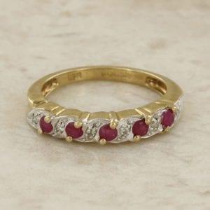 Rolls royce double r diamond pendant the vintage jeweller ruby and diamond swirl ring aloadofball Choice Image