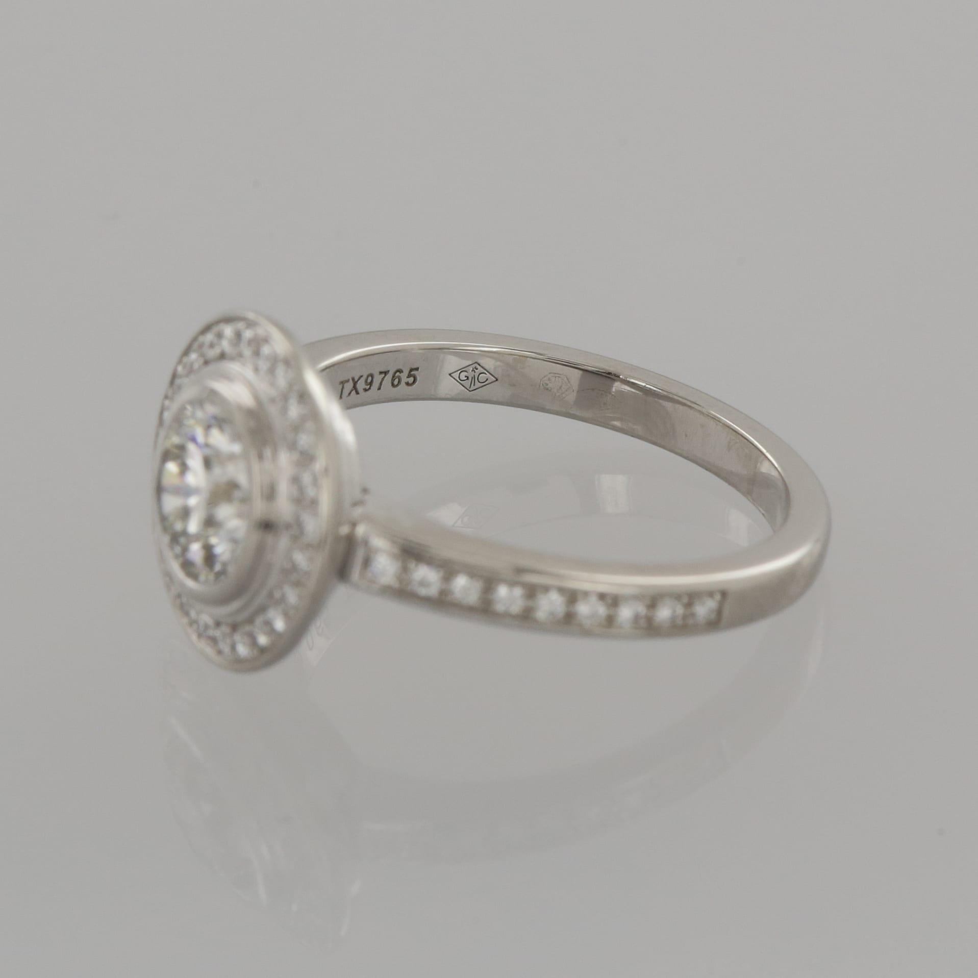 Cartier Solitaire D Amour Diamond Engagement Ring The Vintage
