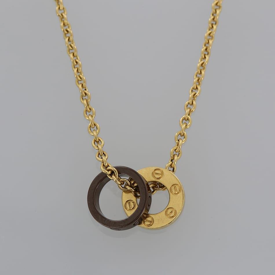 Cartier love pendant necklace the vintage jeweller cartier love pendant necklace aloadofball Choice Image