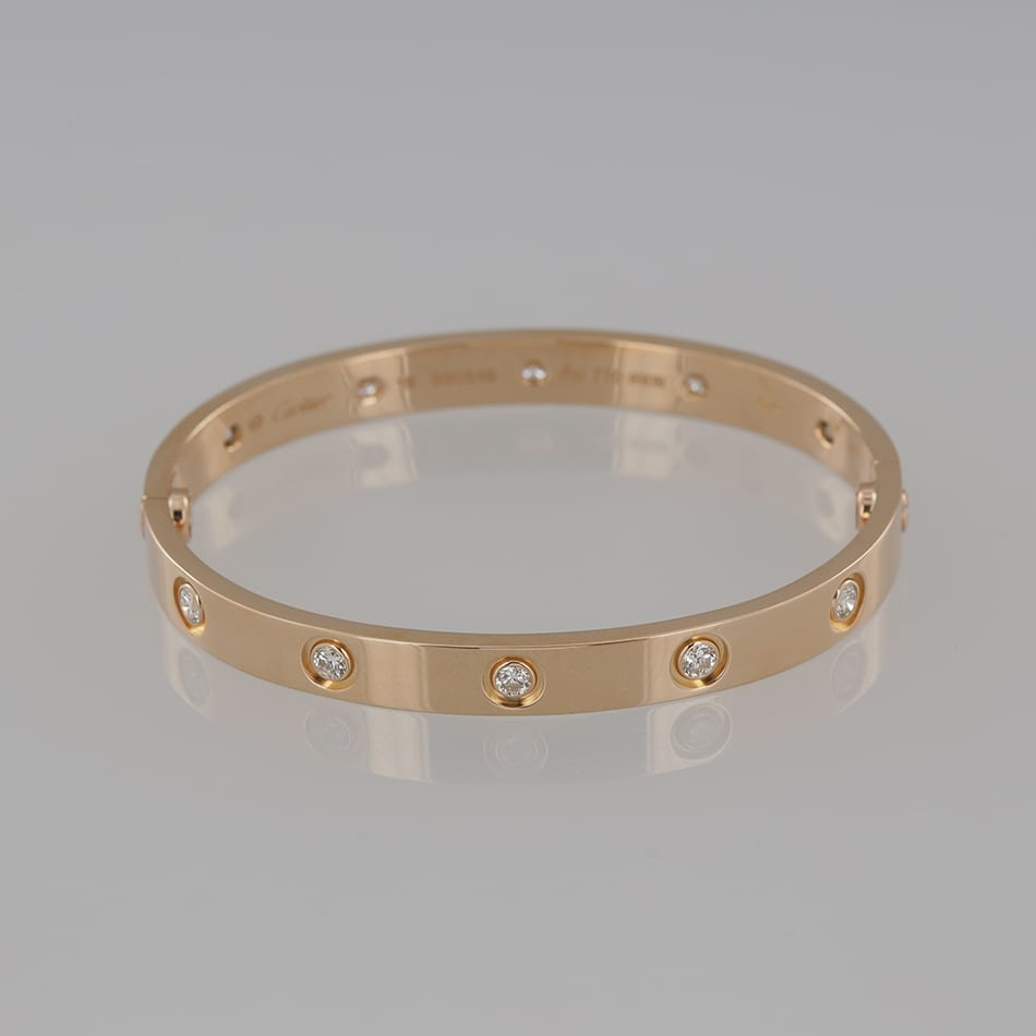product love bangle gold jewellery yellow bangles cartier size full details diamond