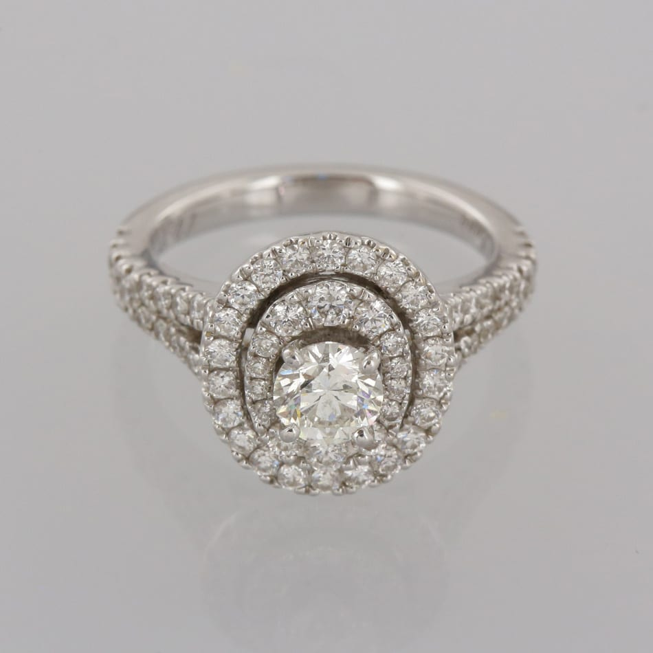 a58f90cde Home / Rings / Stone / Diamond / Neil Lane Diamond Halo Ring