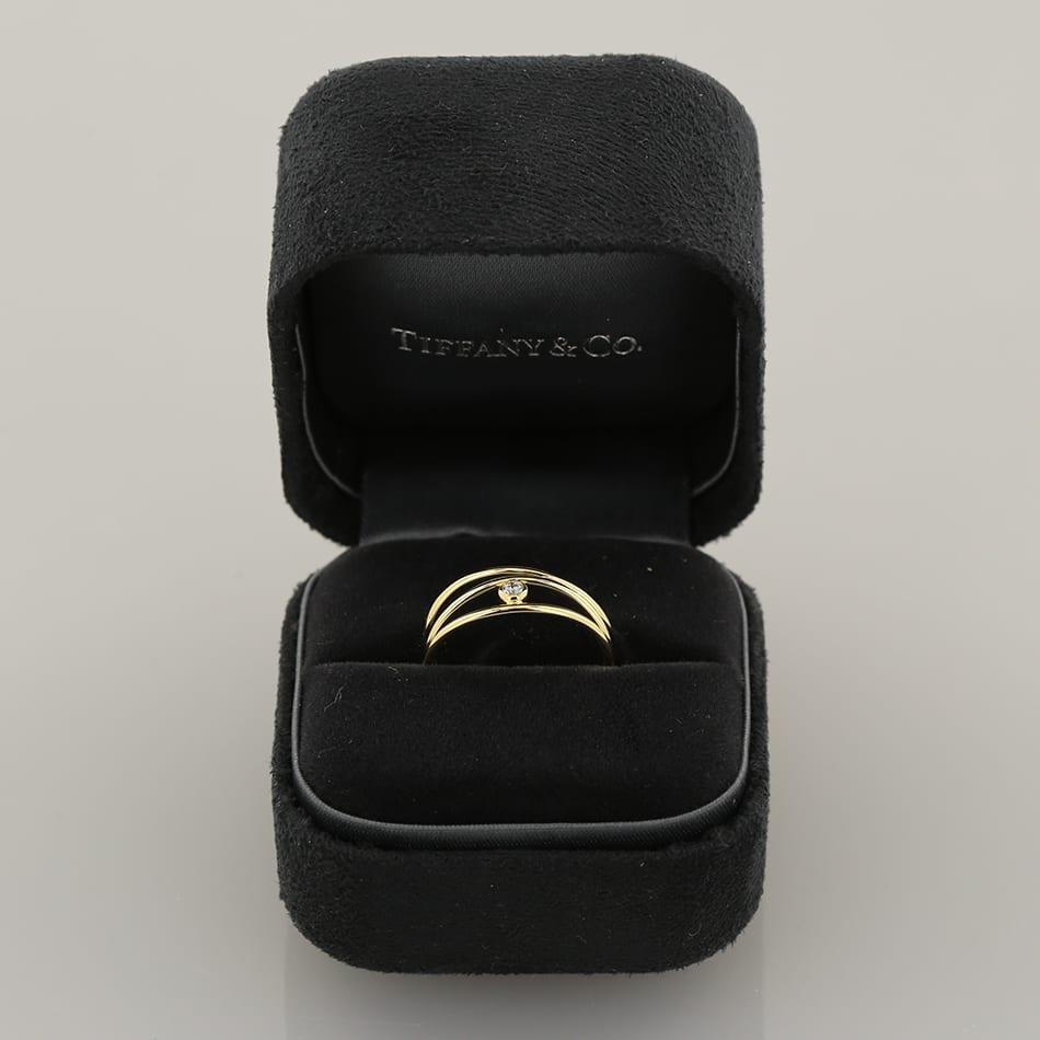 760a25d975 Home   Rings   Stone   Diamond   Tiffany   Co. Elsa Peretti Wave Diamond  Ring