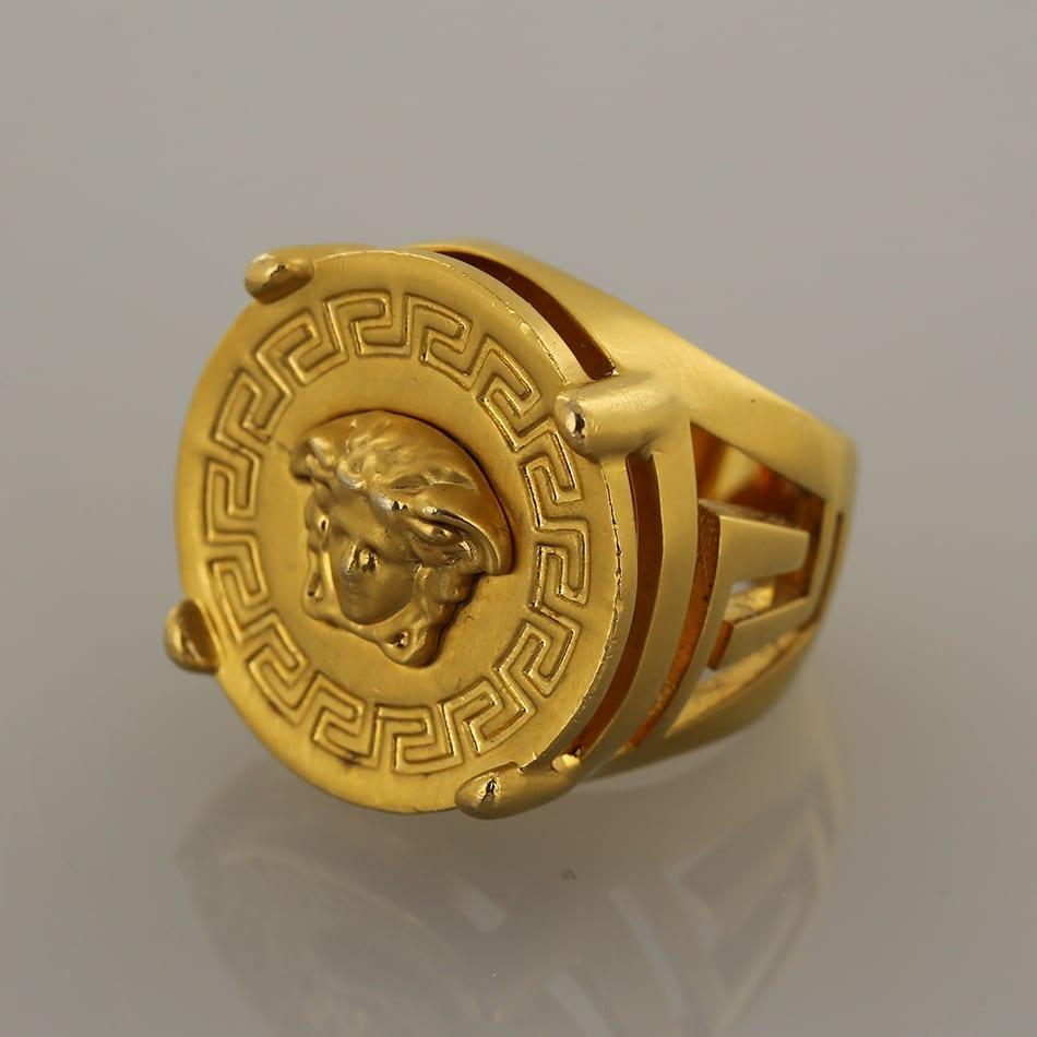 3e188cb663 Versace Rapper Medusa Signet Ring