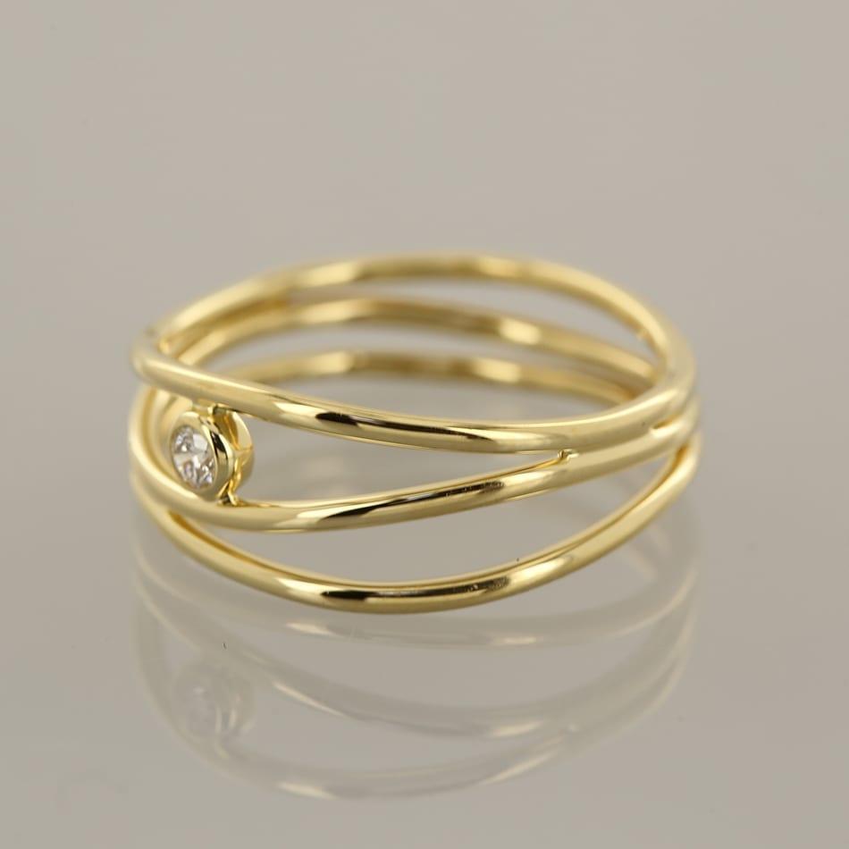 Tiffany Amp Co Elsa Peretti Wave Diamond Ring The Vintage