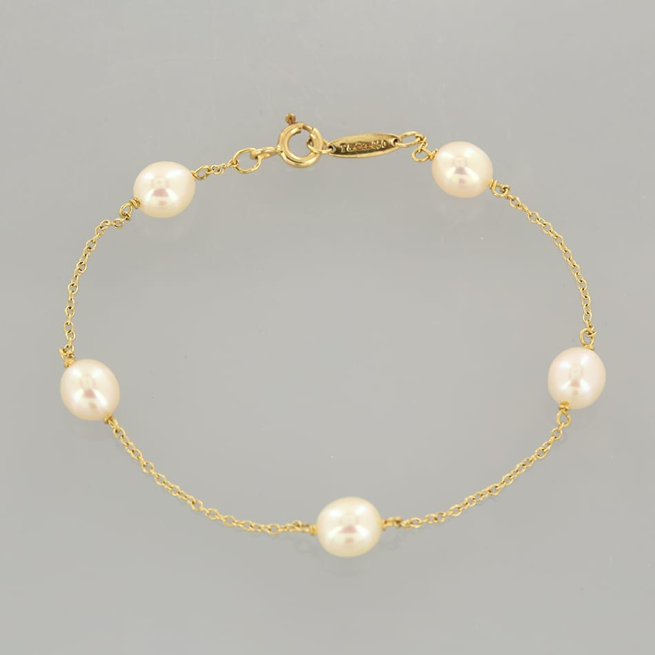 104b12af4 Home / Bracelets / Bracelet / Tiffany & Co Elsa Peretti Pearls By The Yard  Bracelet