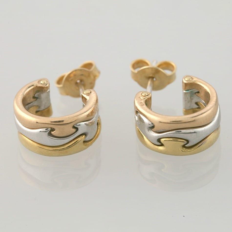 Veldig Georg Jensen Fusion Earrings - The Vintage Jeweller IB-14