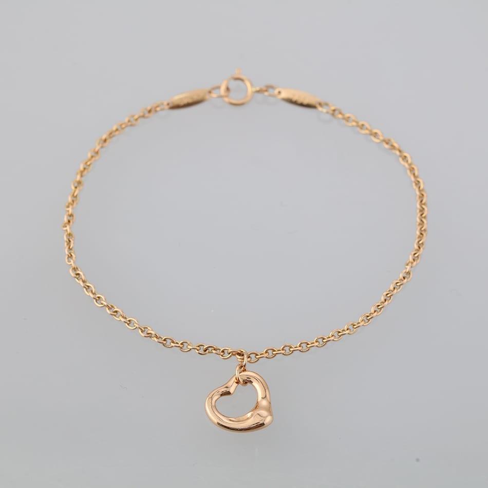 95311946ffcb5 Home   Bracelets   Bracelet   Tiffany   Co Elsa Peretti Open Heart Bracelet