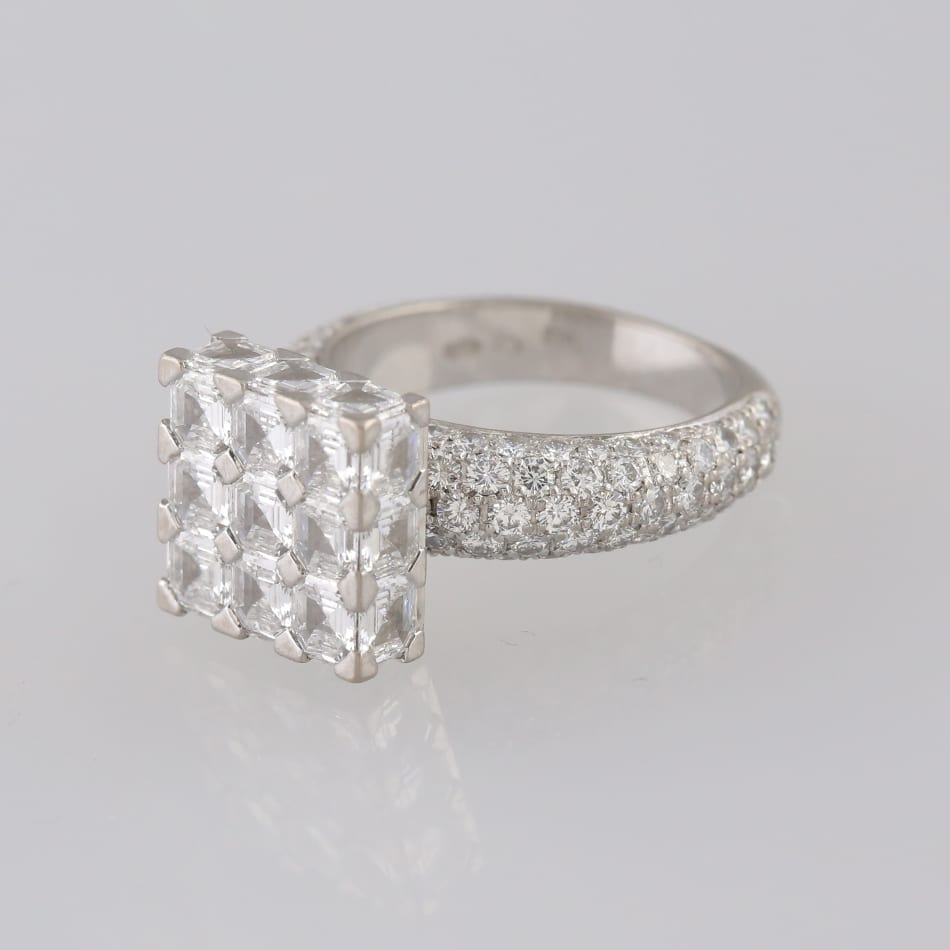 Chopard Ice Cube Ring The Vintage Jeweller