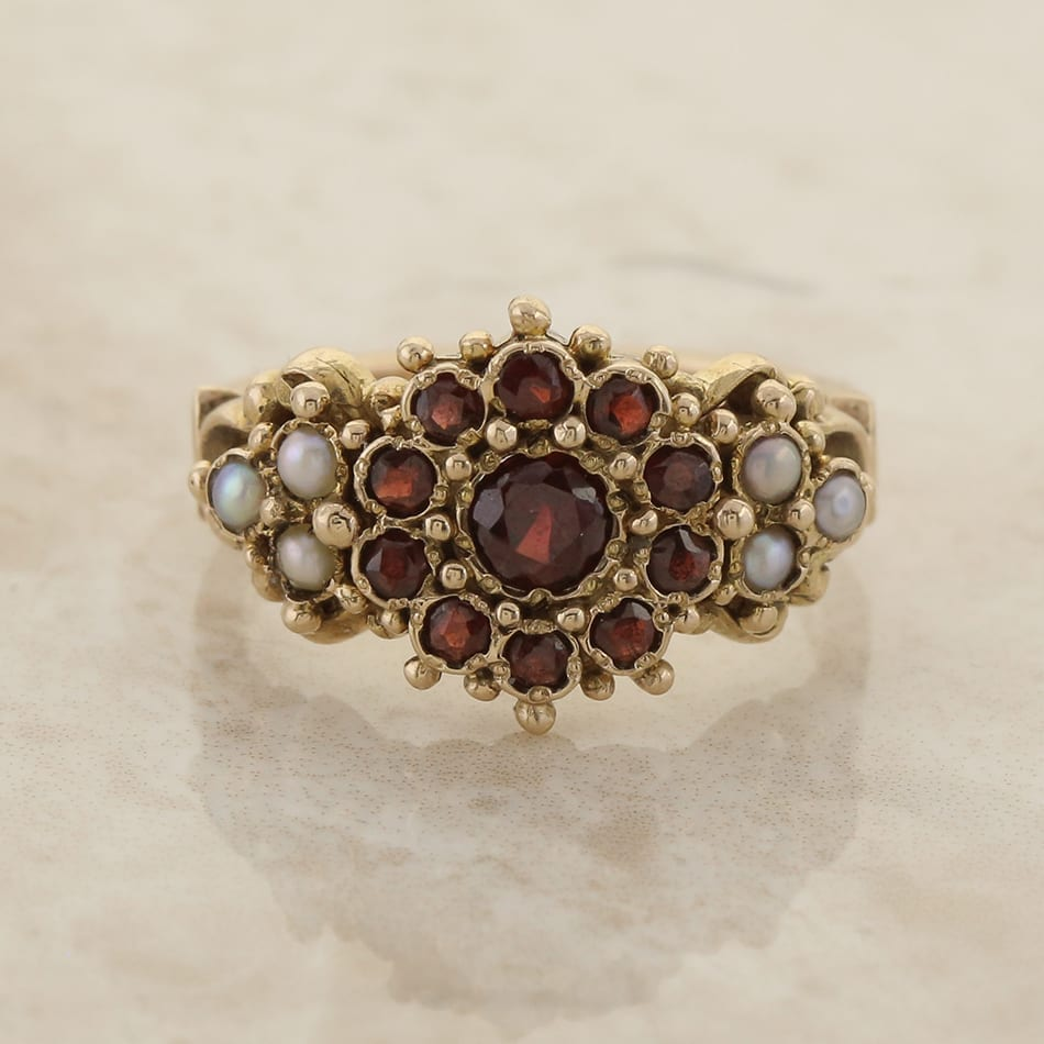 Tiffany Garnet Ring
