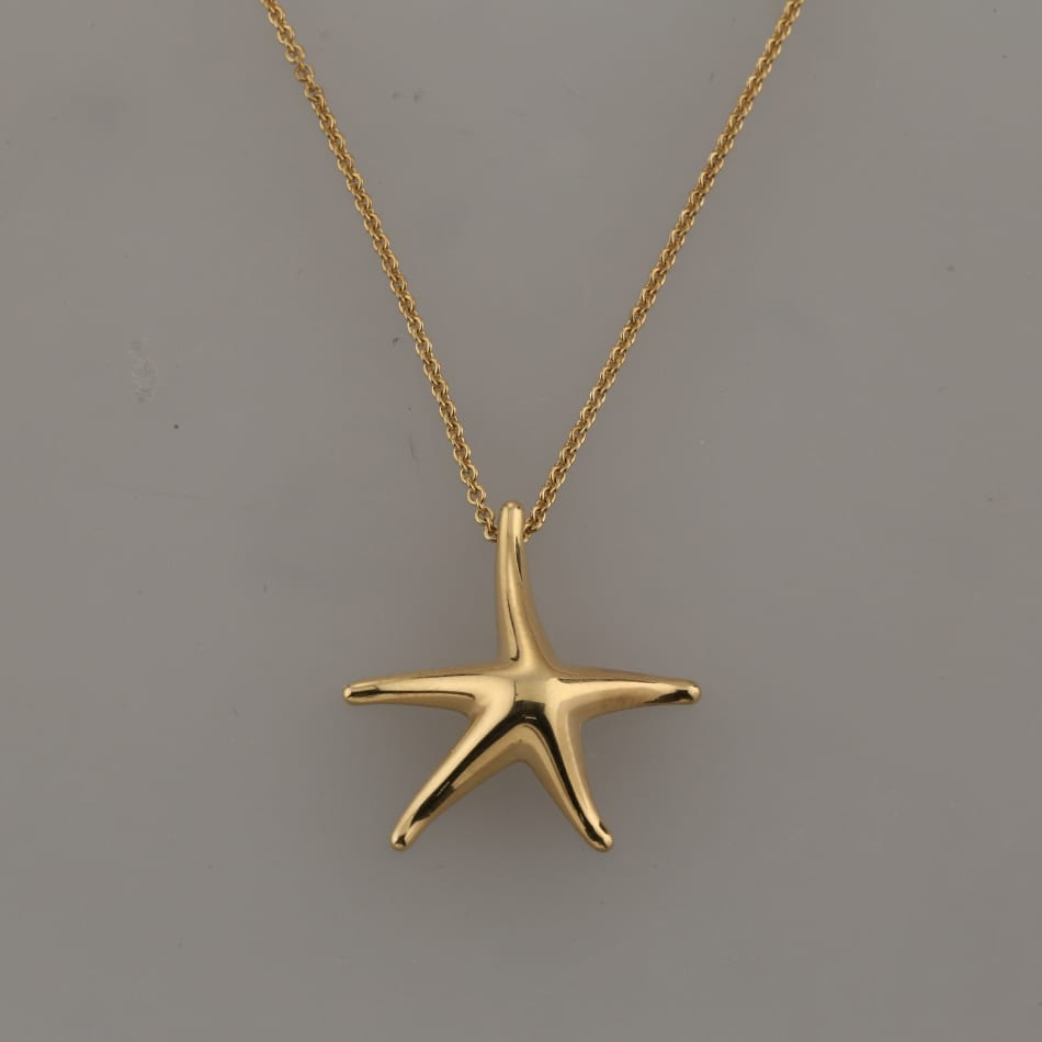 452a81220 Home / Pendants / Metal Purity / 18 carat / Tiffany & Co. Elsa Peretti  Starfish Pendant