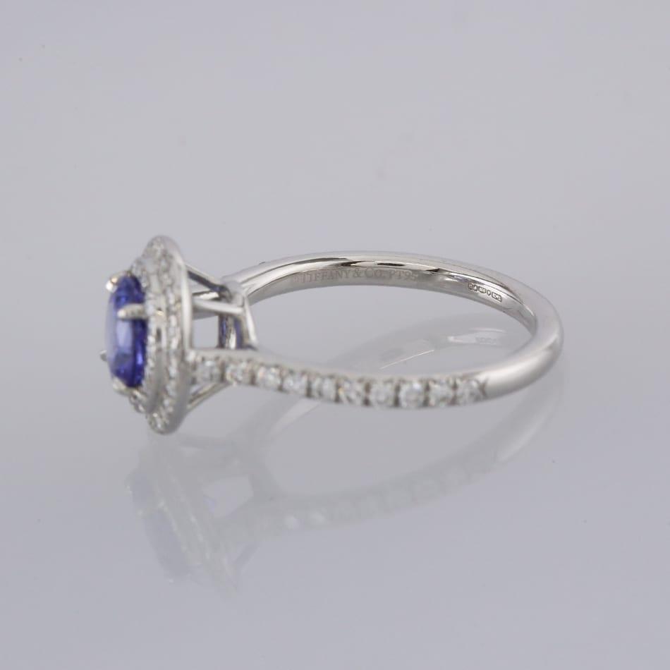 1ffc58f98 Home / Rings / Stone / Diamond / Tiffany & Co. Tanzanite and Diamond Soleste  Ring