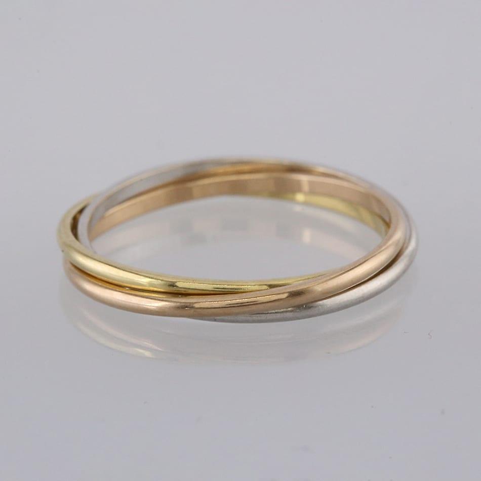 cartier trinity ring vintage