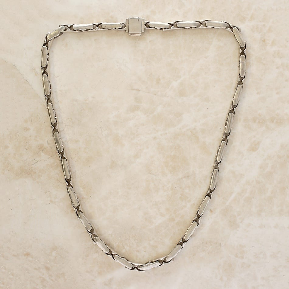 Vintage Heavy Chain Necklace The Vintage Jeweller