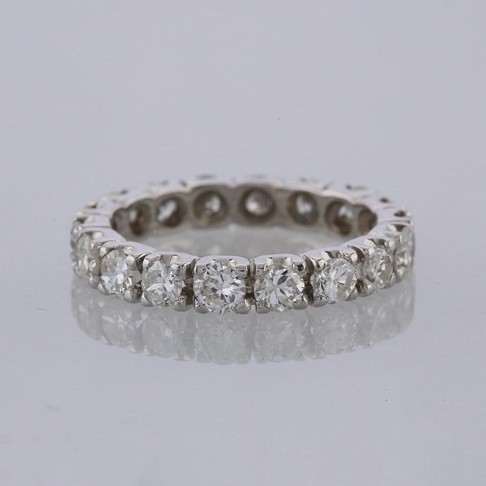 815597483 1.80 Carat Diamond Full Eternity Ring - The Vintage Jeweller
