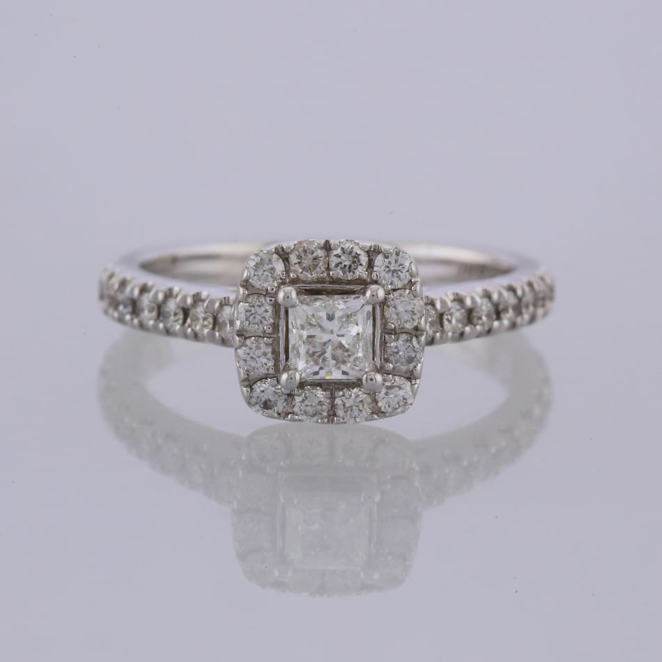 fcc549924 Home / Rings / Stone / Diamond / Neil Lane Diamond Cluster Ring