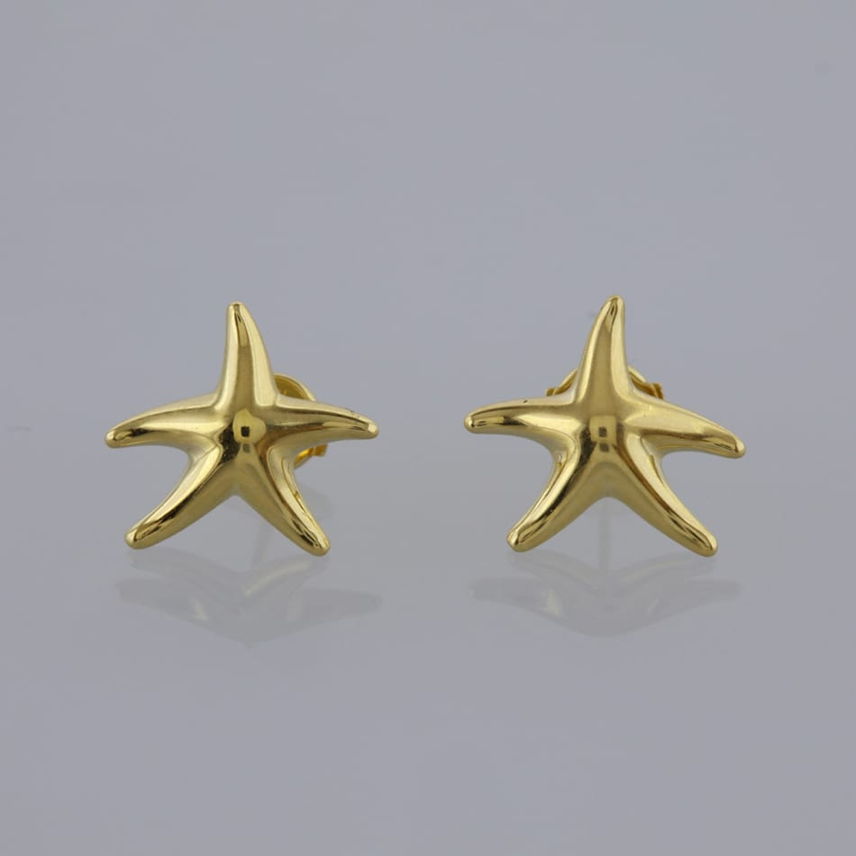aff3605e4 Home / Earrings / Stone / Diamond / Tiffany & Co. Elsa Peretti Starfish  Earrings