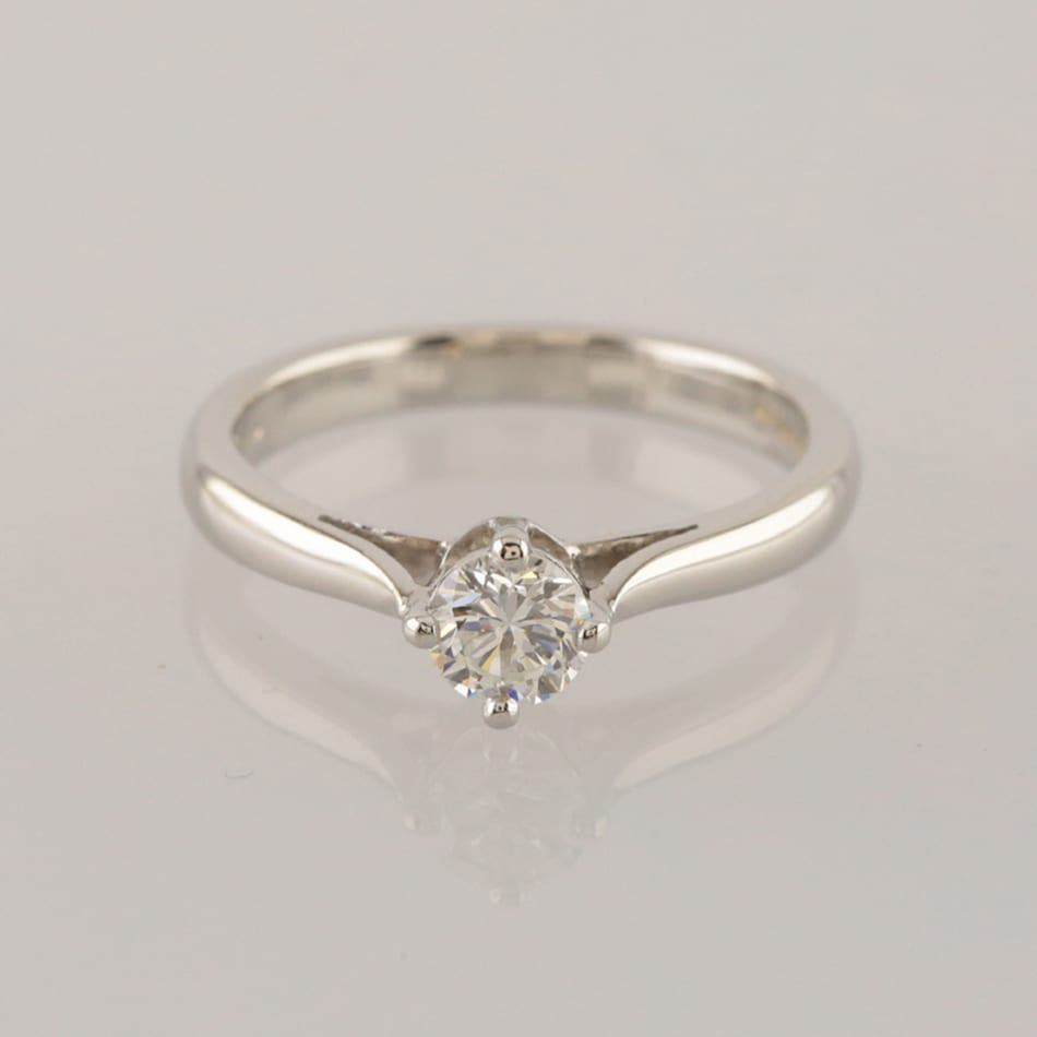 1bdfe46f5 Boodles 0.42 Carat Diamond Solitaire Ring - The Vintage Jeweller