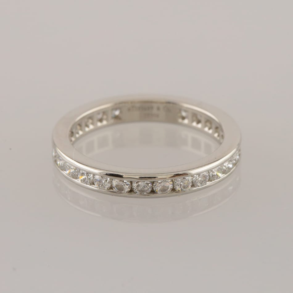 Tiffany & Co  1 0 Carat Diamond Full Eternity Ring Size K