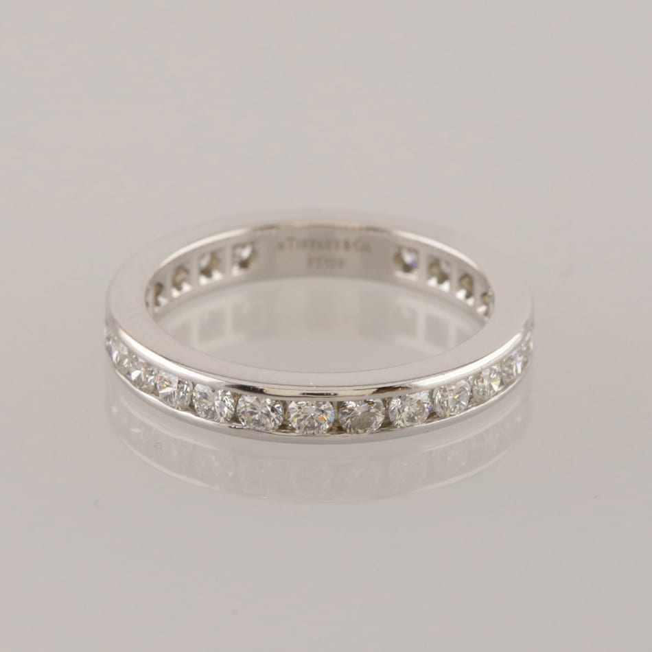 36374cd307781 Tiffany & Co. 1.04 Carat Diamond Full Eternity Ring Size N