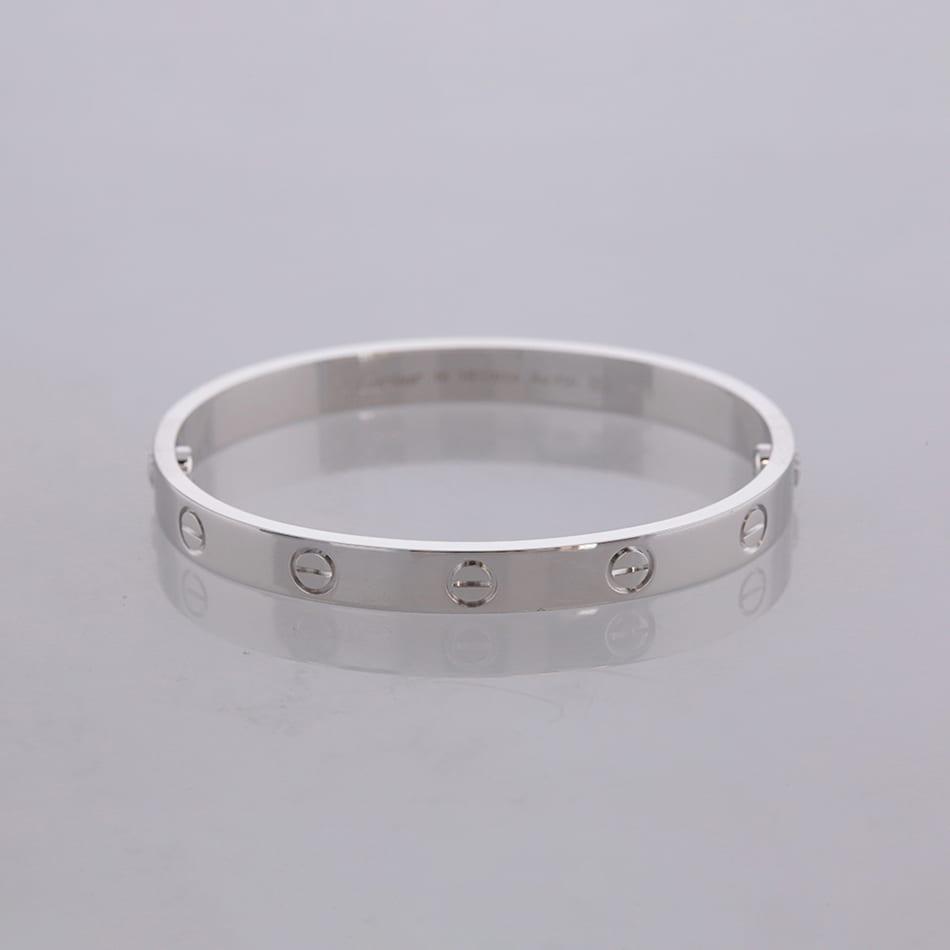b3f6f398c Cartier LOVE Bangle Bracelet Size 16 - The Vintage Jeweller
